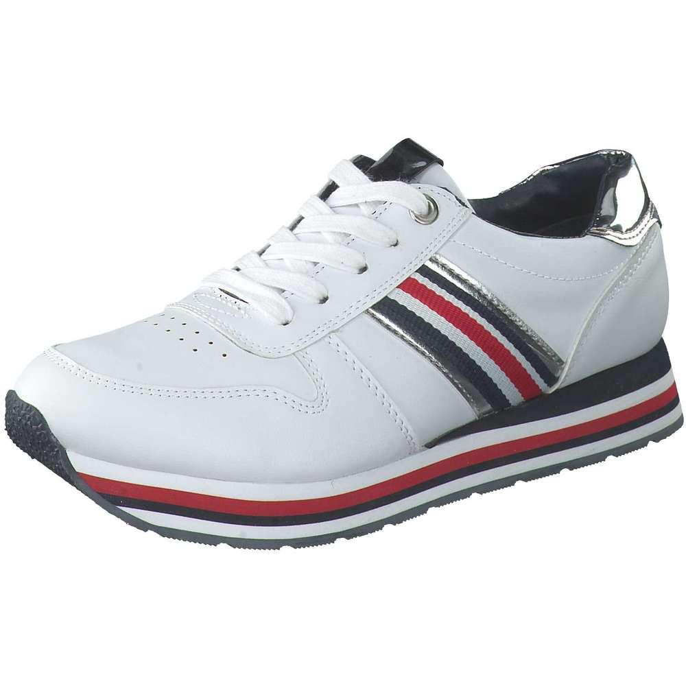 Puccetti Plateau Sneaker weiß |