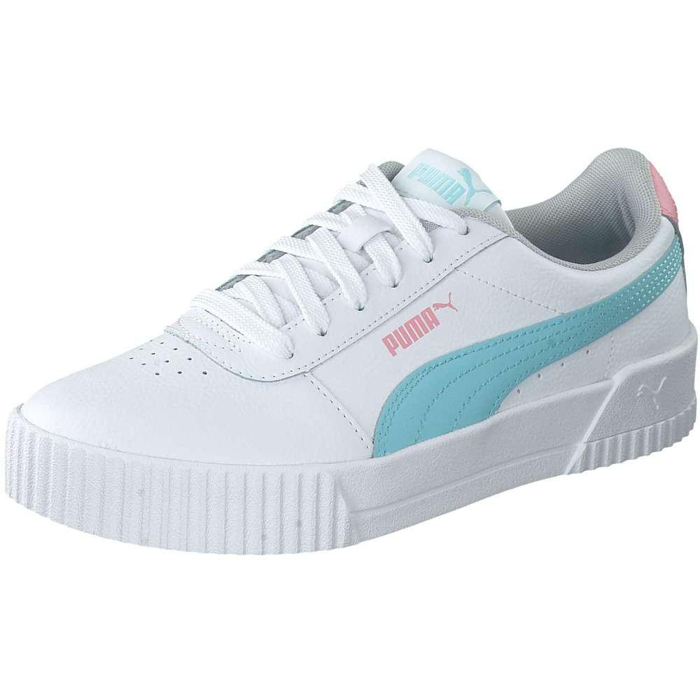 PUMA Lifestyle Carina L Jr Sneaker weiß