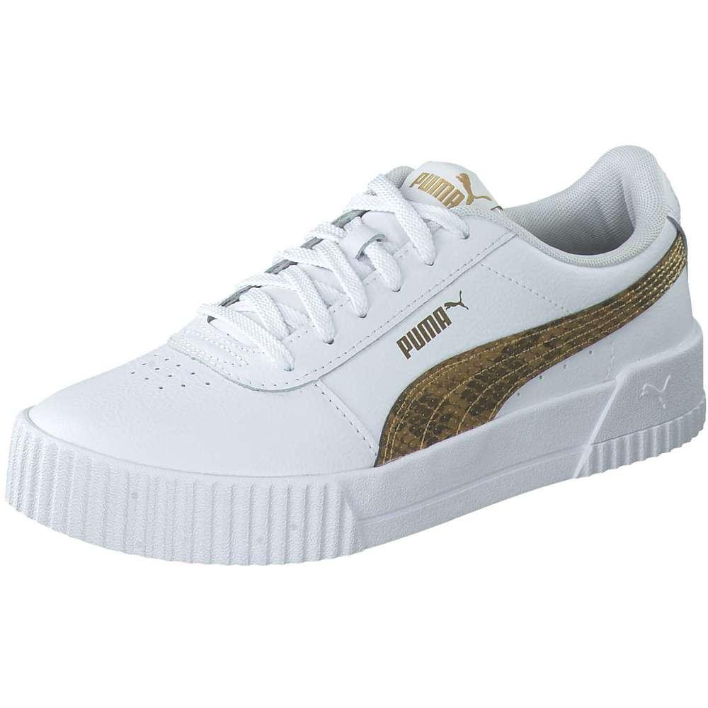 PUMA Carina Snake Sneaker weiß ❤️ |