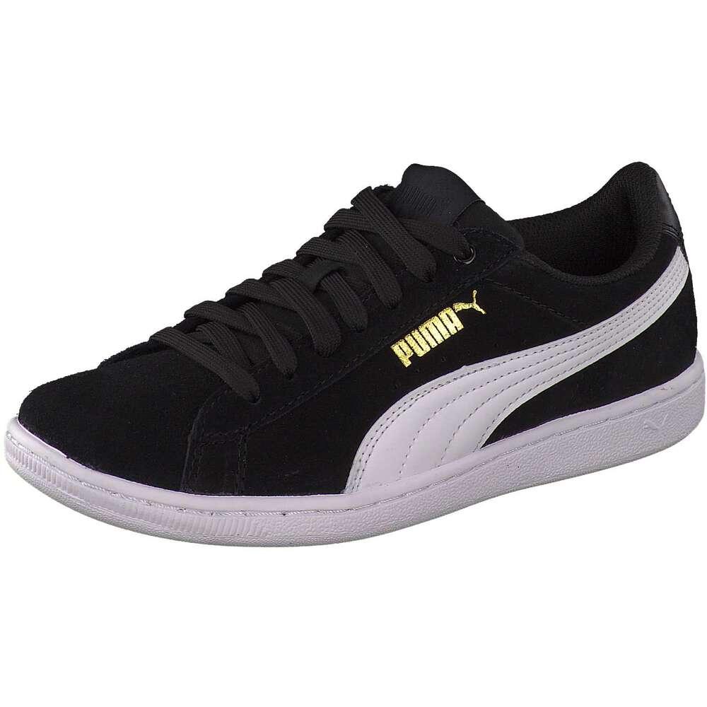 puma sneaker vikky schwarz