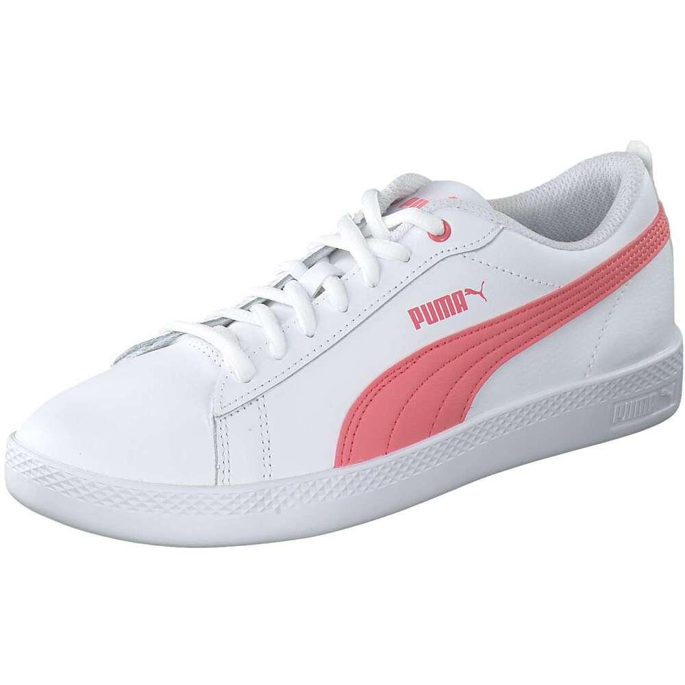 e92c564e2b PUMA Lifestyle - Smash Wns v2 L Sneaker - weiß