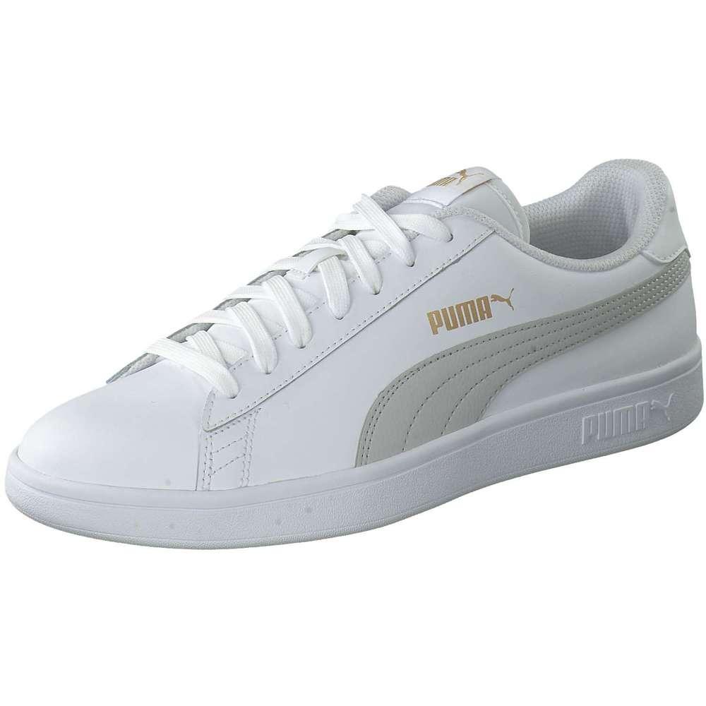 Puma Sneaker SMASH V2 L weiß Damen Ein weißer Sneaker wie
