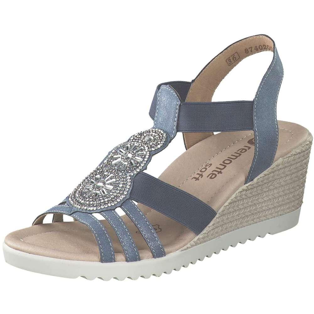the best attitude 8f2fb c0555 Remonte - Sandale - blau   Schuhcenter.de