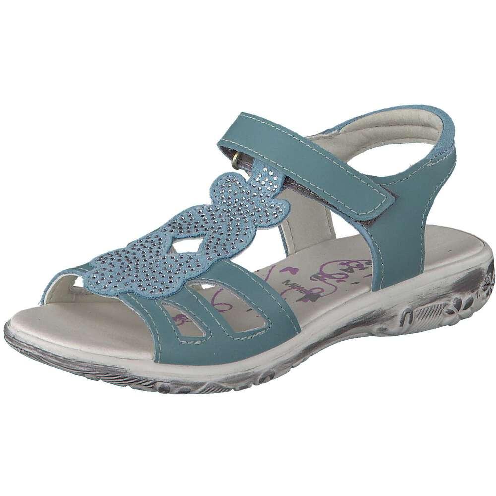 ricosta m dchen pinna sandale in blau reduziert bei. Black Bedroom Furniture Sets. Home Design Ideas