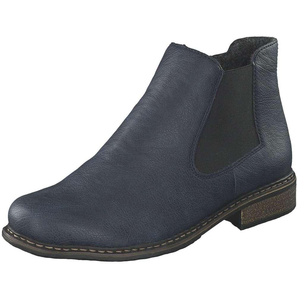 Blauer Damen Ankle Boot von Rieker