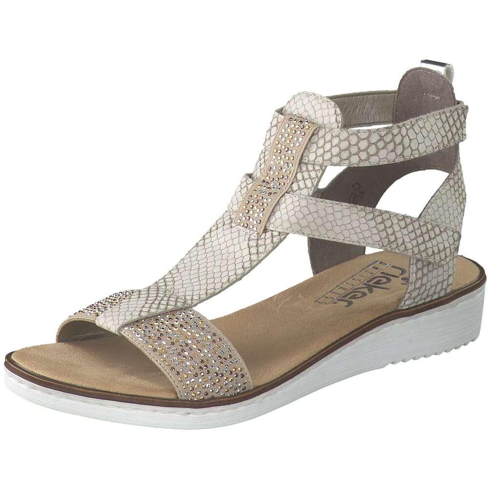 das beste billiger Verkauf attraktiver Preis Rieker - Sandale - beige | Schuhcenter.de