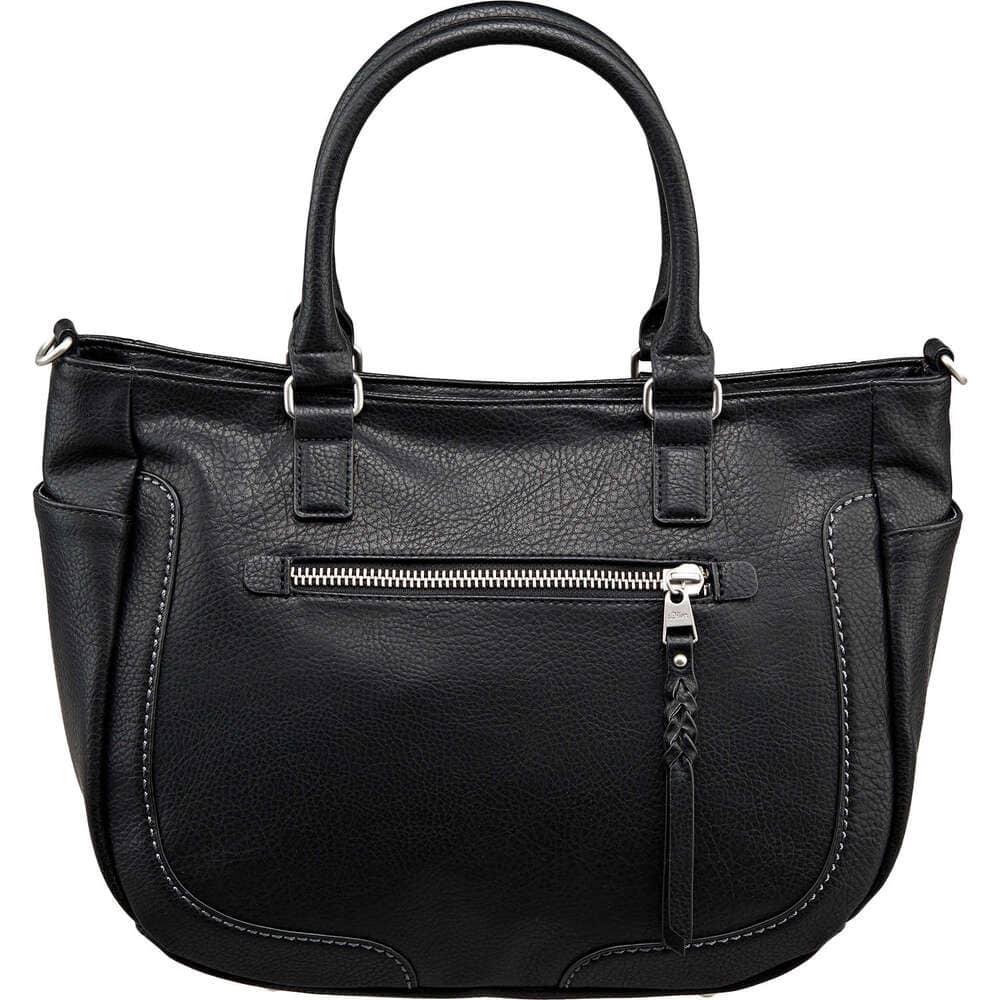 s oliver damen henkeltasche in schwarz reduziert bei. Black Bedroom Furniture Sets. Home Design Ideas