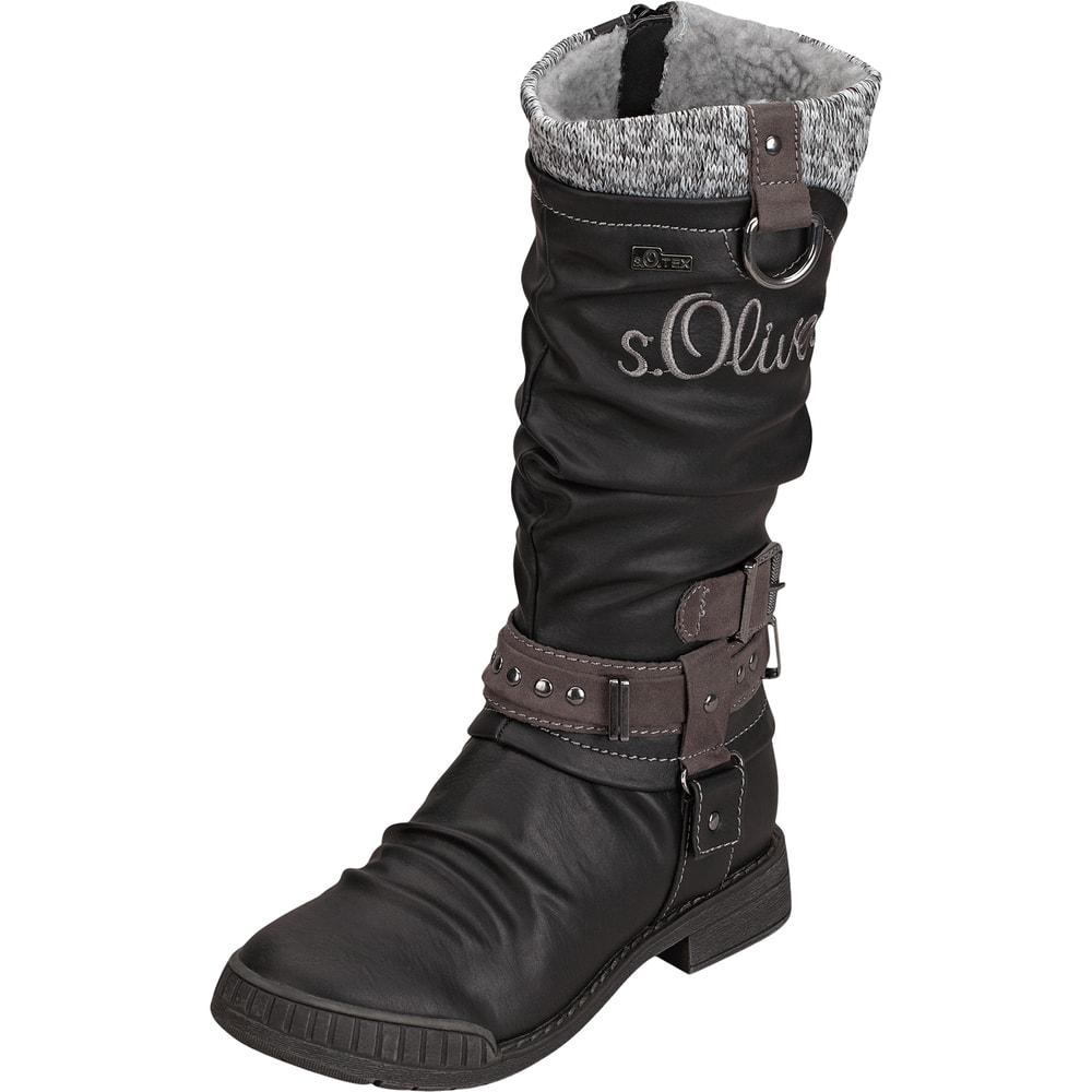 s oliver stiefel schwarz oliver stiefel schwarz 27402006