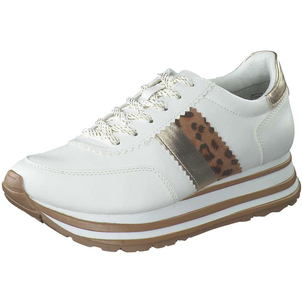 Tamaris Plateau Sneaker weiß |