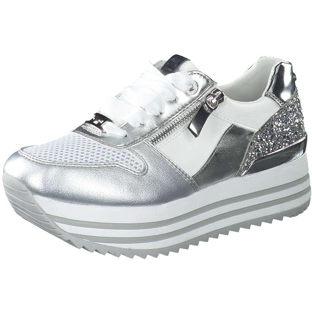 the latest c2bdd ee829 Tom Tailor - Plateau Sneaker - silber | Schuhcenter.de