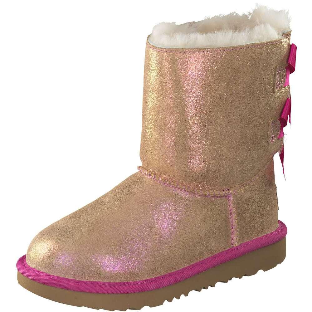 UGG Bailey Bow Mädchen Boots - super warm mit Lammfellfutter