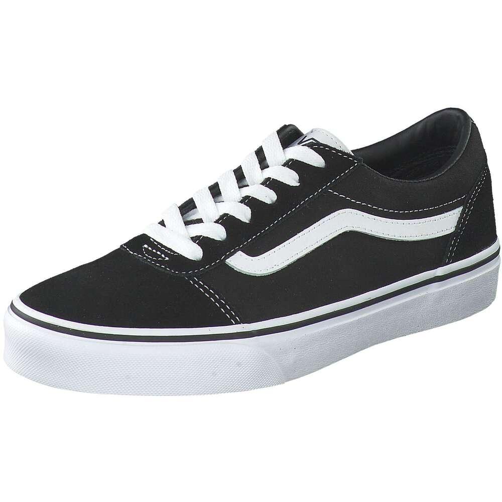 Vans YT Ward Sneaker schwarz