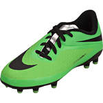 Nike Performance Kids Jr. Hypervenom Phelon FG  grün
