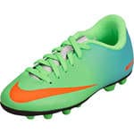 Nike Performance Kids Jr. Mercurial Vortex FG-R  lime