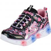 Skechers Kinder Sommerschuhe S Lights Heart Lights  schwarz