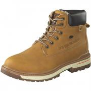 Dockers Stiefeletten Schnür Boots  gelb
