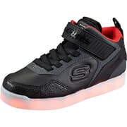 Skechers Schwarze Schuhe Energy Lights High Sneaker  schwarz