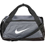 Nike Performance Graue Schuhe Brasilia Small Duffel Bag  grau