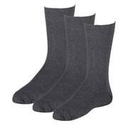 Graue Schuhe Herrensocken 3er Pack  grau