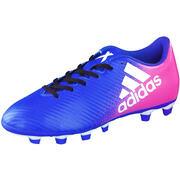 adidas performance Rasen X 16.4 FxG Fußball  blau