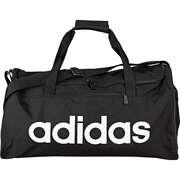 adidas Schwarze Schuhe Lin Core Dufflebag Sporttasche  schwarz