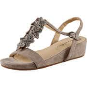 Alma en Pena Keil Sandale  beige