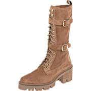 Alpe Woman Klassische Stiefel Schnürstiefel  braun