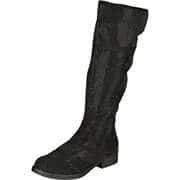 Barbarella Stiefel Langschaftstiefel  schwarz