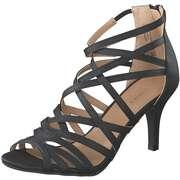 Barbarella Schwarze Schuhe Sandale  schwarz
