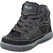 Be Wild High Top Sneaker Schnür-Boot  black