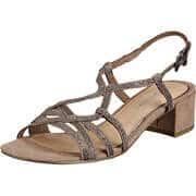 Bellissima Damen Sommerschuhe Sandale  bronze