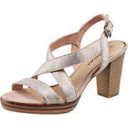 Bellissima Sommerschuhe Sandale  silber