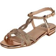 BIBI LOU Damen Sommerschuhe Sandale  gold