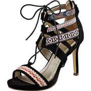 Bullboxer Riemchen Sandale  schwarz
