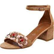 Canape Sommerschuhe Sandale  beige