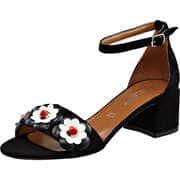 Canape Sommerschuhe Sandale  schwarz
