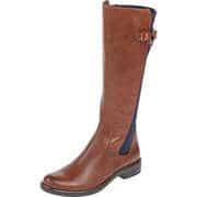 Caprice Braune Schuhe Langschaftstiefel  braun