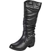 Charmosa Rabatt-Aktion Stiefeletten & Boots Langschaftstiefel  schwarz