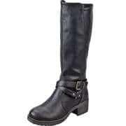 Charmosa Klassische Stiefel Langschaftstiefel  schwarz