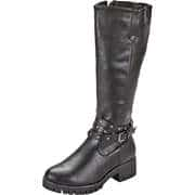 Charmosa Boots Langschaftstiefel  schwarz