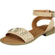 Charmosa Damen Sommerschuhe Sandale  beige
