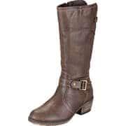 Charmosa Biker & Cowboy Style Stiefel  braun