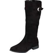 Charmosa Klassisch Stiefel  schwarz