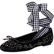 Claudia Ghizzani Schuhe Ballerina  schwarz
