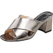 Claudia Ghizzani Clogs & Mules Pantolette  silber