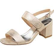 Claudia Ghizzani Sommerschuhe Sandale  gold