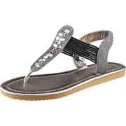 Claudia Ghizzani Sommerschuhe Sandale  schwarz