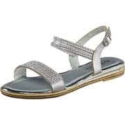 Claudia Ghizzani Sommerschuhe Sandale  silber