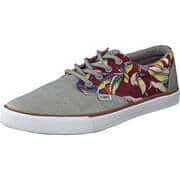 Djinns Sneaker Low Nice Crazy Pattern  grau