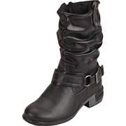 Dockers Langschaftstiefel 3/4 Stiefel  schwarz
